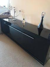 Small Black Gloss Sideboard Next Sideboard Ebay