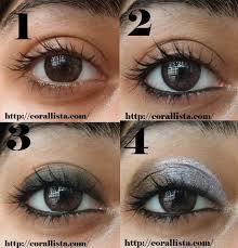 eyeshadow tutorial for brown skin tutorial thursday kim kardashian inspired silver smokey eye makeup