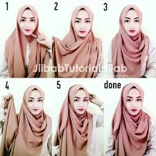 tutorial hijab simple tapi menarik prcounselors
