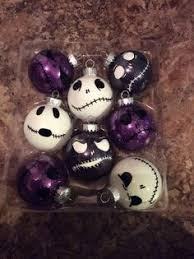 the nightmare before ornaments by holyshiiititsash