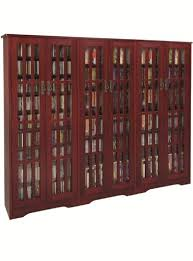 leslie dame media storage cabinet leslie dame m 1431dc high capacity inlaid glass mission style