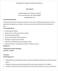 Teachers Assistant Resume Teacher Resumes 26 Free Word Pdf Documents Download Free