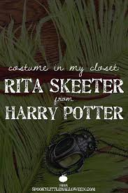 costume in my closet rita skeeter from harry potter spooky