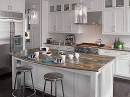 white island kitchen white quartz kitchen island