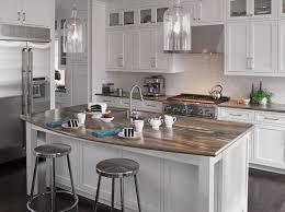 kitchen dark kitchen island with quartz countertop modern look