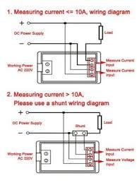 riorand 0 199 9v 0 20 0a dc va voltmeter ammeter volt ampere panel