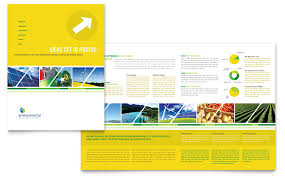 11x17 brochure template environmental conservation brochure template word publisher