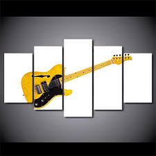 aliexpress com buy 5 pieces black and white yellow guitar music