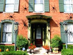 articles with front door halloween decorations ideas tag terrific