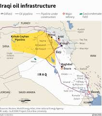 Baghdad Map Oil Means The Kurds Don U0027t Have To Answer To Baghdad Business Insider