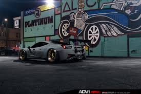 ferrari 458 widebody liberty walk ferrari 458 widebody adv05c track spec cs series