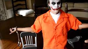 Orange Prison Jumpsuit Halloween Costume Gotham Prison Uniform Asmus Toys