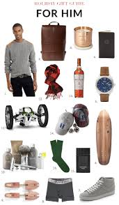 gift guide 2014 for him gibbons style
