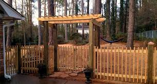 garden arbor with gate sale home outdoor decoration