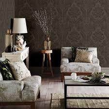 wallpaper livingroom shadow damask wallpaper from a street prints moonlight by brewster