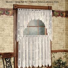 Vineyard Home Decor by Vineyard Grapes Lace Window Treatment Home Decoration Ideas