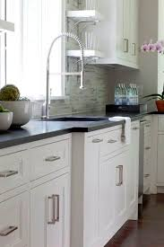White Kitchen Black Island Best 25 Black Granite Ideas On Pinterest Black Granite