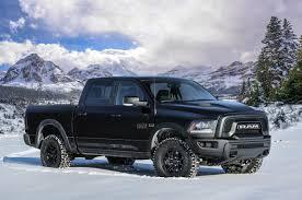 dodge blackout truck 2017 ram 1500 rebel black special edition bound for detroit