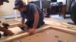 wood for table tennis table how to build a ping pong table sips youtube