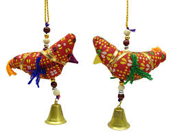 rajasthani wall hanging handmade crafting ethnic bird design toran