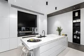 cuisine blanche moderne cuisine moderne marbre prix cuisine haut de gamme meubles rangement