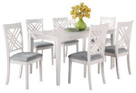white rectangle kitchen table stylish white rectangular dining table pertaining to 6 seat freedom
