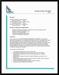 Stanford Resume Template Resume Civil Engineer Resume