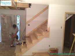 Replace Banister With Half Wall Renovation Rehab Replacing The Staircase From