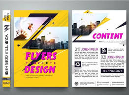flyer property flyer vector for free download