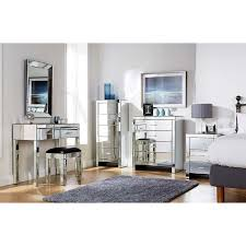 Cheap Mirrored Bedroom Furniture Sets Bedroom Mirror Set On Regarding Mirrored Furniture New Household