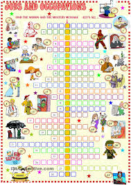 household items crossword puzzle esl vocabulary house