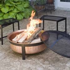 pit fires amazon com cobraco sh101 hand hammered 100 copper fire pit with