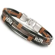 bracelet cuir homme images Bracelet homme cuir achat vente pas cher soldes d s le 27 jpg