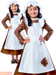 halloween costume maid victorian poor costume maid fancy dress girls book day kids