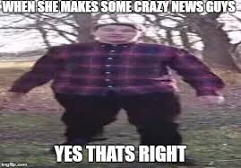 Gif Meme Maker - hi guys scarce here and today we have some crazy news imgflip