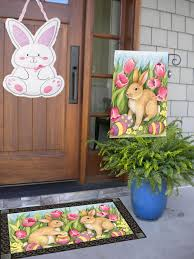 Easter Decorations For Porch by 5 Easter Decorations To Add To Your Front Door Or Porch Area