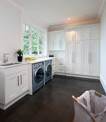 contemporary laundry room cabinets caulfeild contemporary laundry room vancouver by old world
