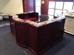 Granite Reception Desk 5 Reception Desks With High Impact