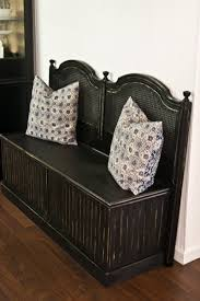 Bench From Headboard Remodelaholic 25 Headboard Benches How To Make Your Own