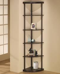 assorted corner bookcase ideas home design furniture