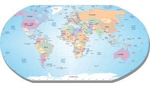 Australian Map Of The World by Map