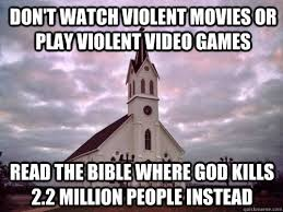 Play All The Games Meme - don t watch violent movies or play violent video games read the