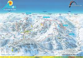 Maps France by Auron Ski Map France Europe
