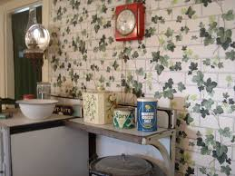 1940s kitchen with ivy wallpaper i know i u0027ve seen that wal u2026 flickr