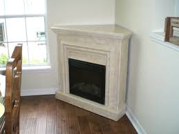 Electric Corner Fireplace Awesome Corner Fireplaces About White Granite Fireplace Mantel Of