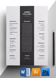Copywriter Resume Template Copywriter Resume Template Easy To Edit Resumes For Download