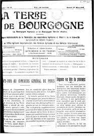 chambre d agriculture dijon la terre de bourgogne la bourgogne agricole et la bourgogne rurale