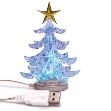 Mini Decorated Christmas Trees Usb Christmas Tree