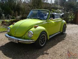 vw beetle 1303s convertible karmann 1973 volkswagen 1303