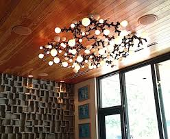 Diy Ceiling Light by A Bright Idea Try This Diy Light Bulb Chandelier Diy Interiors
